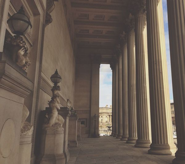 Architecture Liverpool Columns
