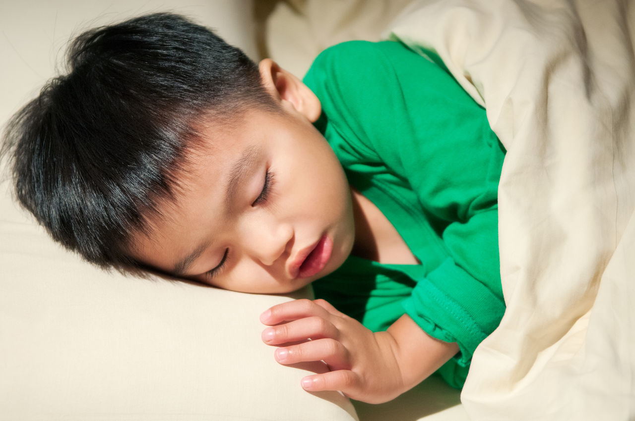 Closeup portrait of a young boy sleeping soundly. 3 Years Ago Asian  Asleep Bed Bedtime Boy Child Childhood Close-up East Asian Face Indoors  Kid Nap Night Night, Sleep Tight Portrait Resting Sleep Sleeping Tired Young Always Be Cozy