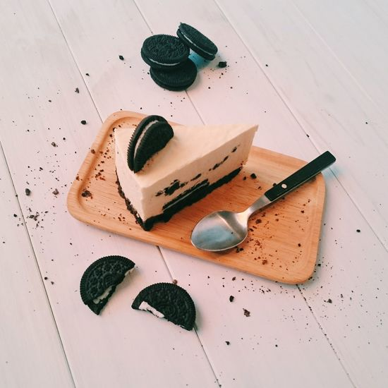 Oreo起司蛋糕。 Oreo Cheese Cake Dessert Chiba 吃吧