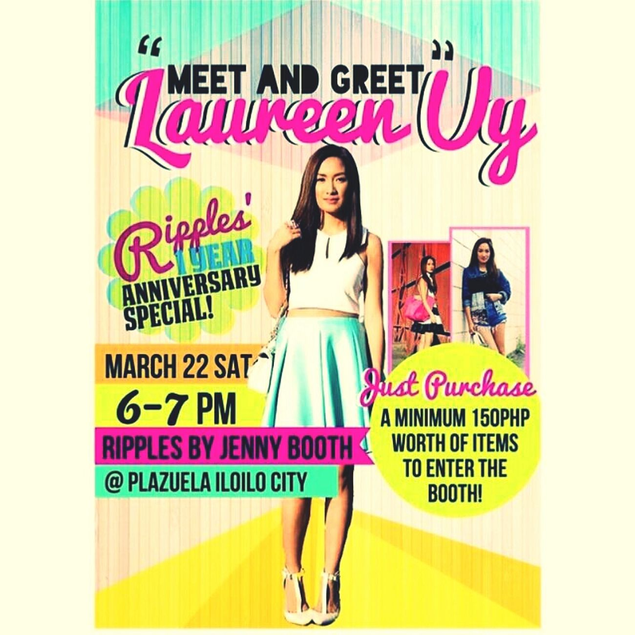 Laureen Uy in Plazuela Iloilo City on March 22, 2014 *_*