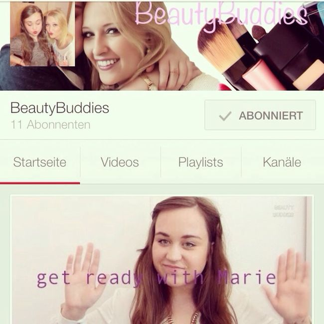 Beautybuddies On Youtubehttp://youtu.be/hRZ_fkVTP0Y