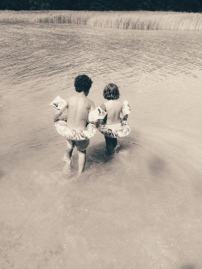 Swimming Best Friends Brother & Sister Summer ☀ Vacay2016 July 2016 Water Plants Water Fun Love♡ Enjoying Life Friends For Life  Son Daughter Playing In The Water People Together