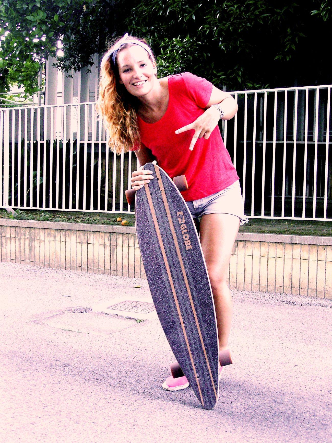 Longboarding. Yeah yeah yeahs! Skateboard Skategirl Enjoying Life Facesofeyem