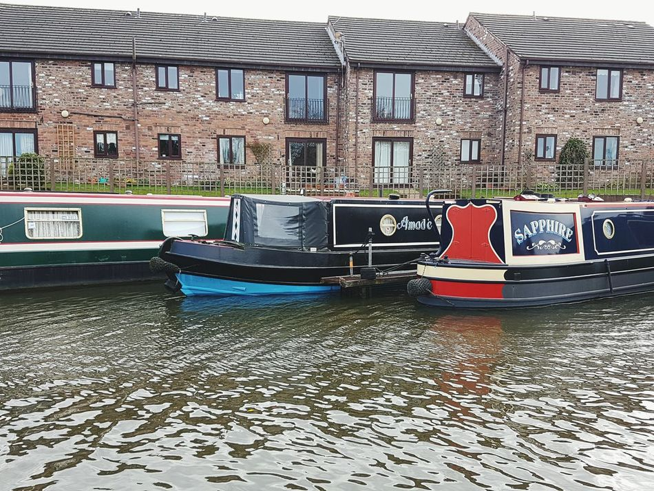 Building Exterior Built Structure Architecture Nautical Vessel No People Outdoors Day Exploration Scenics Water Canal View Canal Boats Canals And Waterways Canalboats