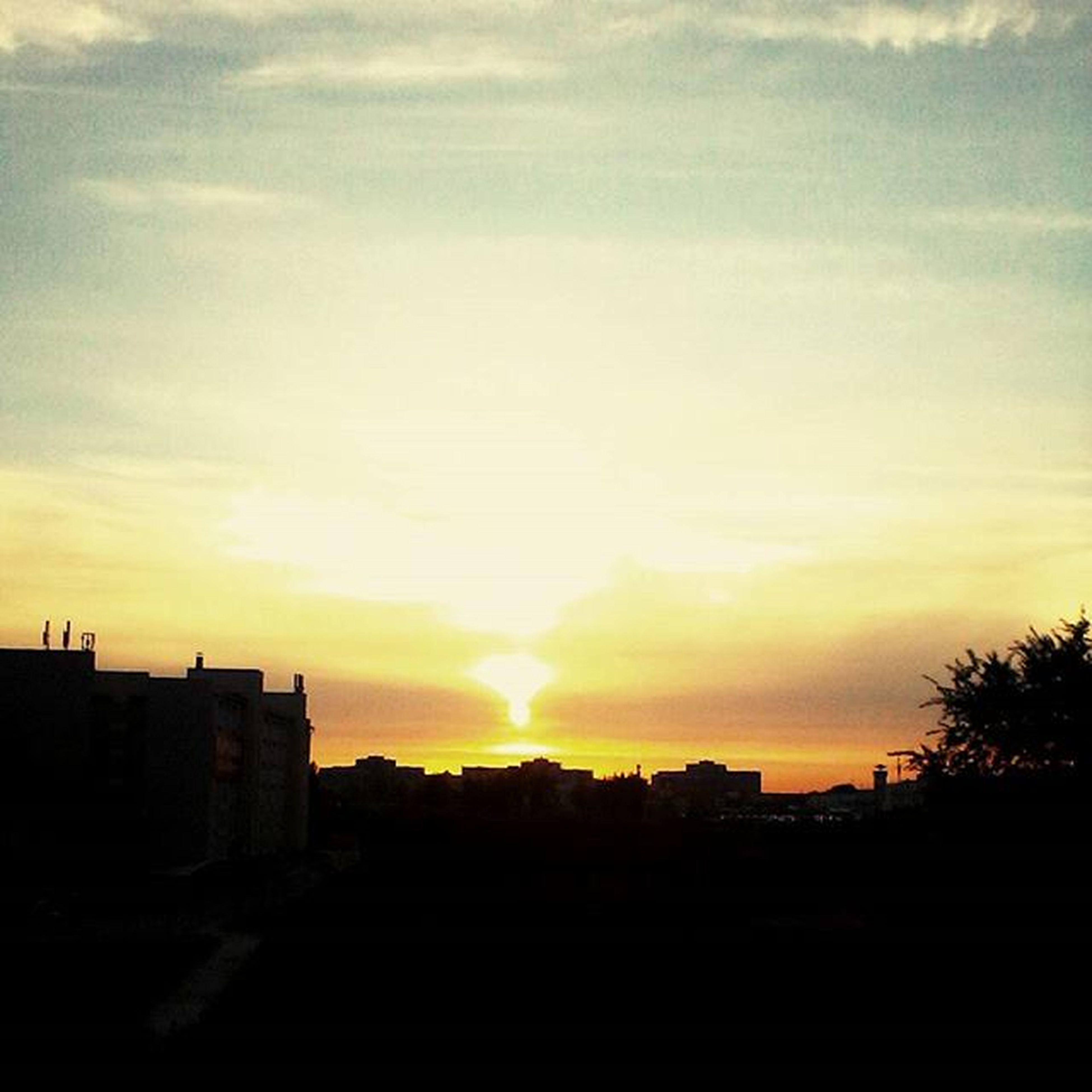 Sunset Sun Sky Skyaddicted