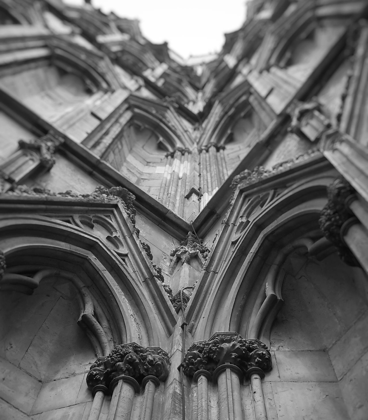 Yorkminster York Girlsdayout Blackandwhite Architecture