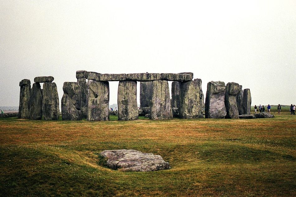 the mystery that is Stonehenge. Stonehenge Travel Destinations The Past OutdoorsGrass Built Structure Architecture History Architecture Ancient Film Is Not Dead Film Photography 35mm Film Film Travel Photography
