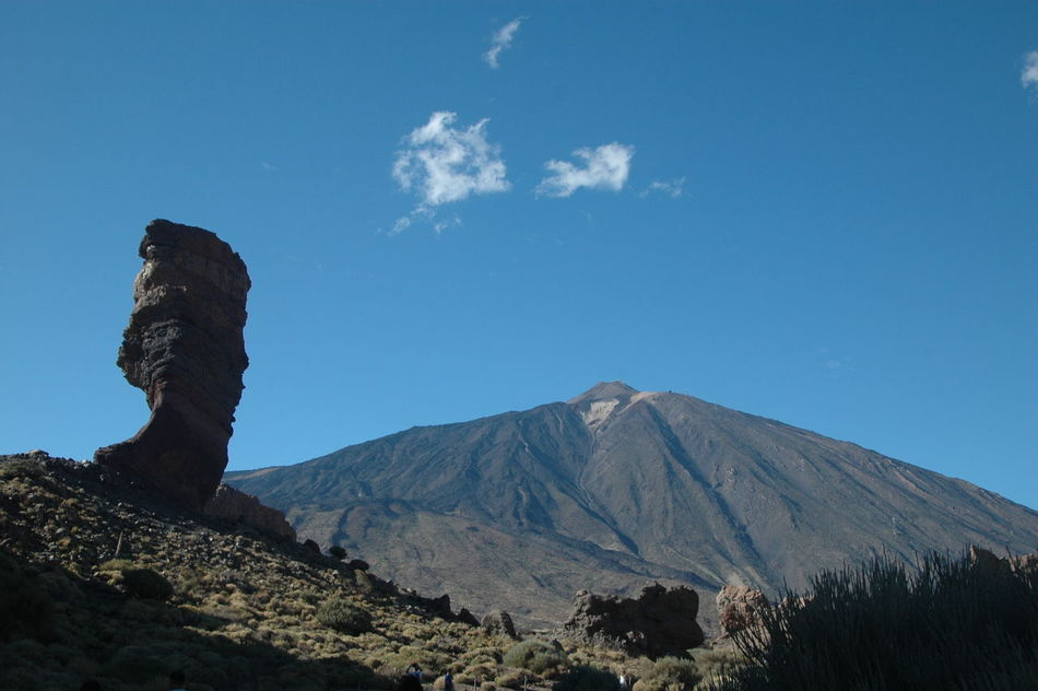 Beauty In Nature Blue Canarias Canary Canary Islands Cho Tenerife Day Geology Landscape Los Roques Mountain Mountain Range Nature Nature No People Outdoors Parque Nacional Del Teide Physical Geography Sky Teide Teide Volcano Tenerife Travel Destinations Volcanic Landscape Vulcan
