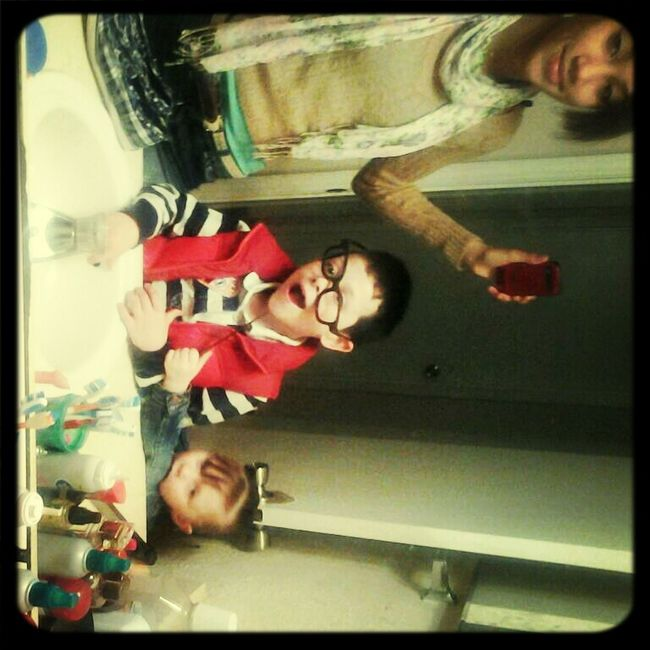 My Kids Being Silly.....