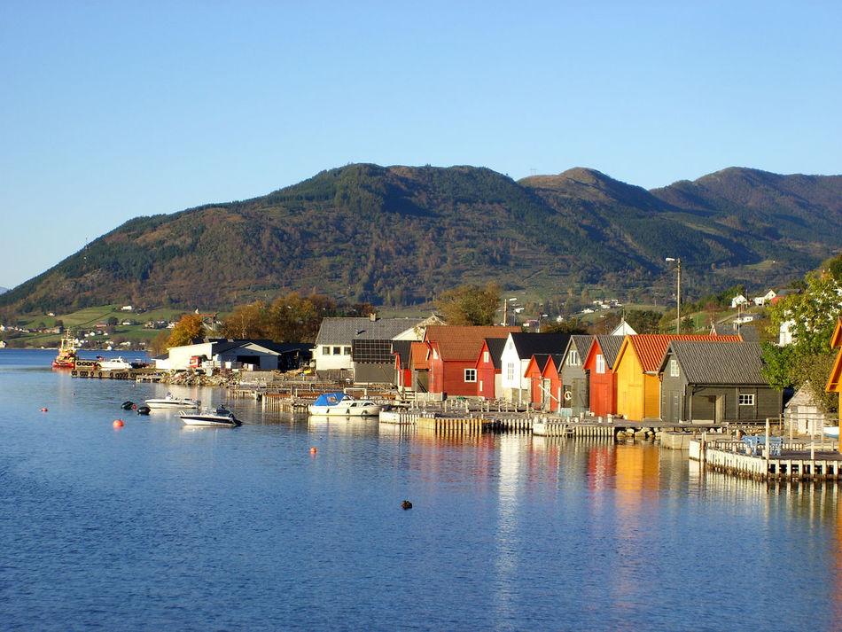Hardangerfjord Mountain Nature Norwegen Outdoors Rosendal Water Water Reflections