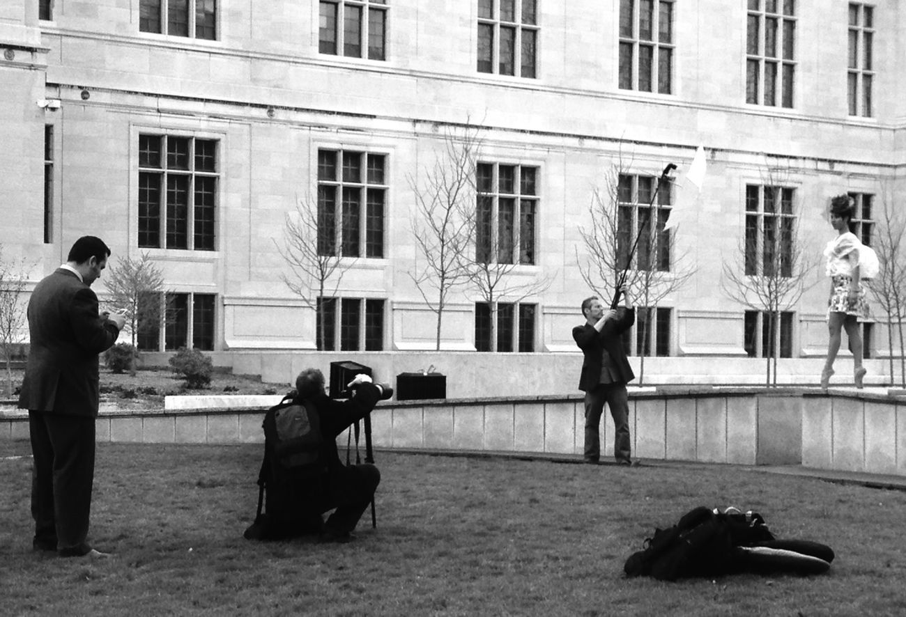 Black And White EyeEmBestPics Fashion Photoshoot Photographer In The Shot