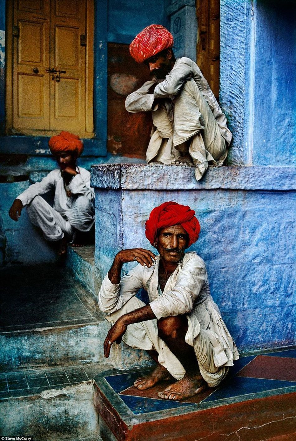 Indian Farmer Real People, Real Lives Lifestyles JodhpurCity Rajasthan Indian 1996gallery