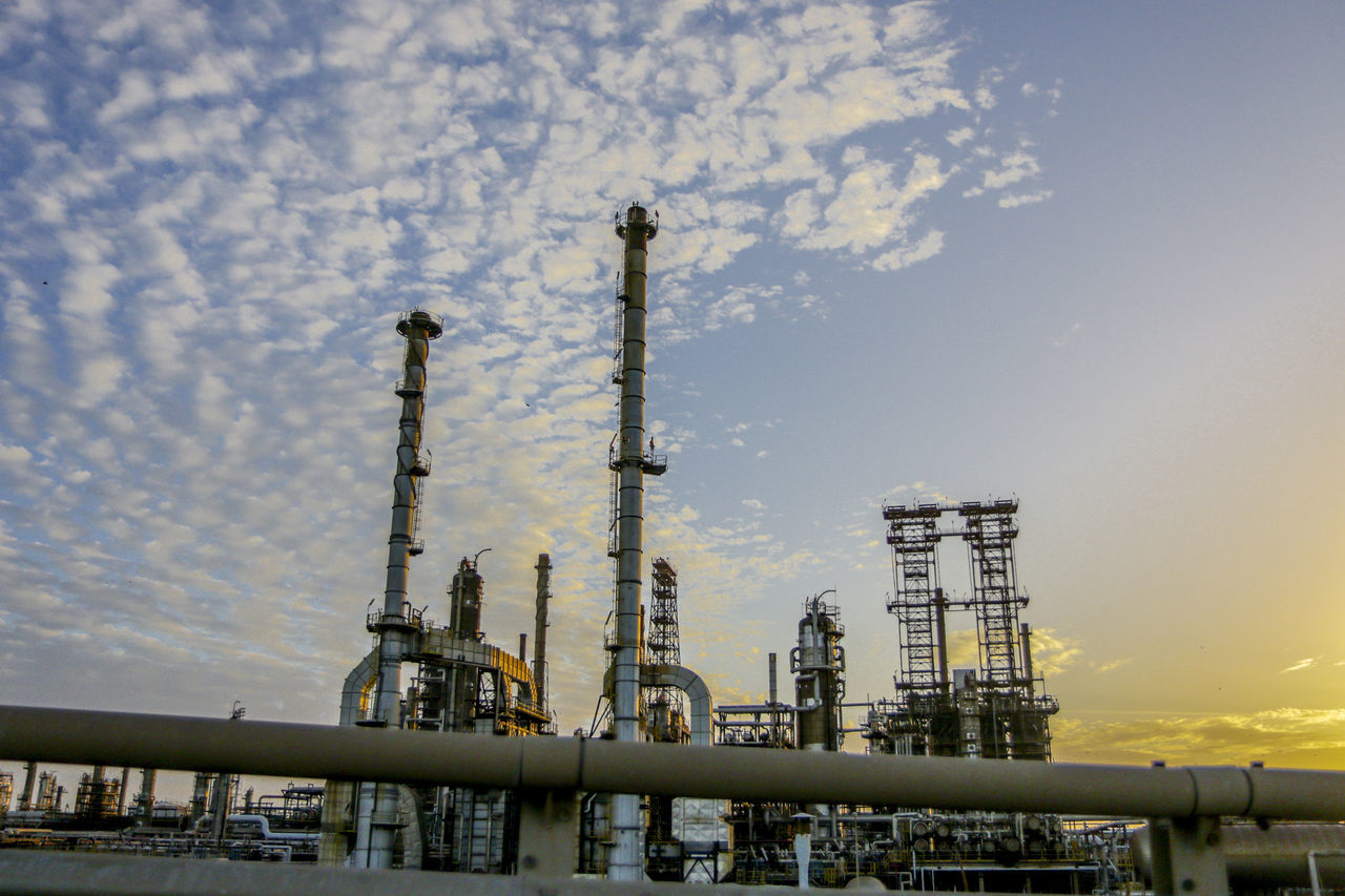 # #Nature  Built Structure Day Gas Industry No People Oil Industry Oil Refinery Outdoors Petrochemical Plant Sky