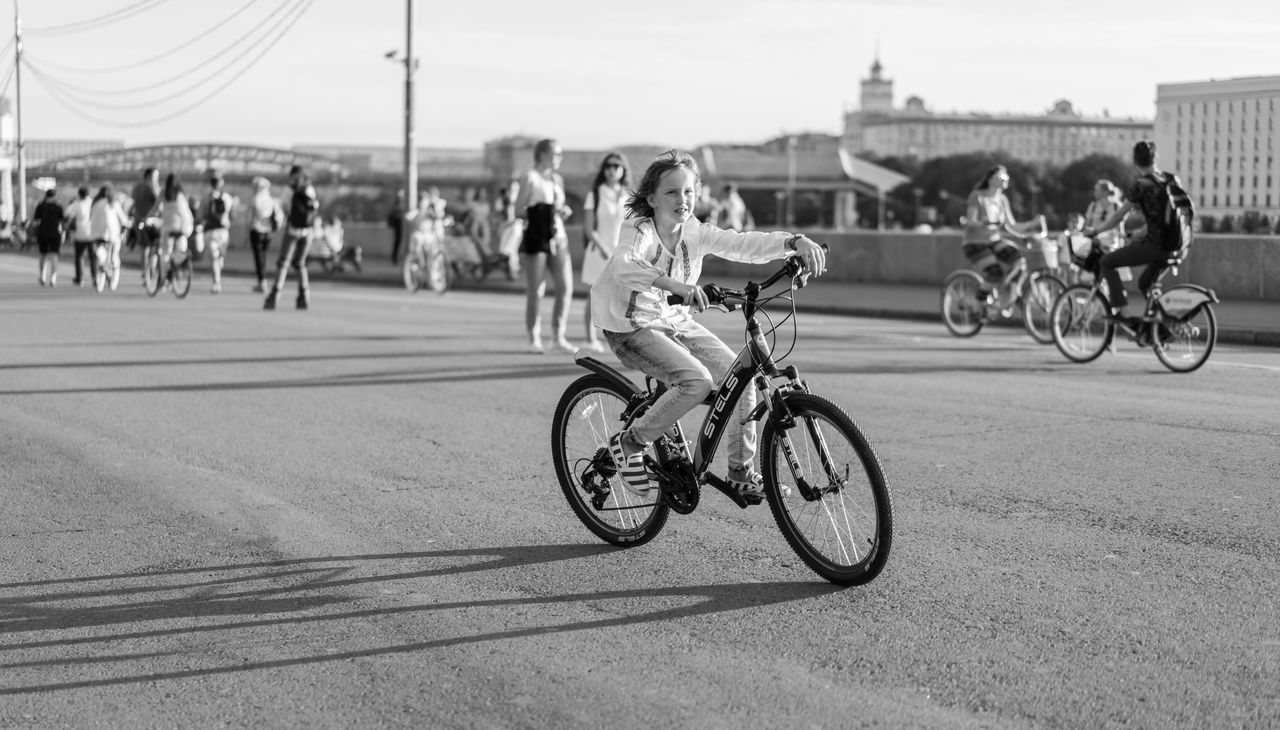 Beautiful stock photos of fahrrad, real people, bicycle, transportation, mode of transport