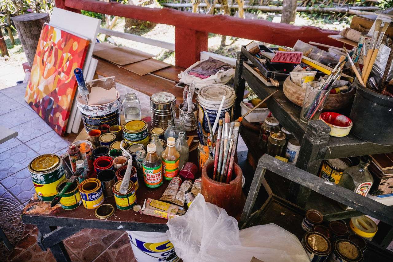 For Sale Arts And Crafts Paintbrush Painting Materials Artists Tools