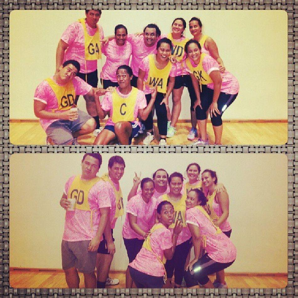 Team Pinkballs BusinessHouseNetball
