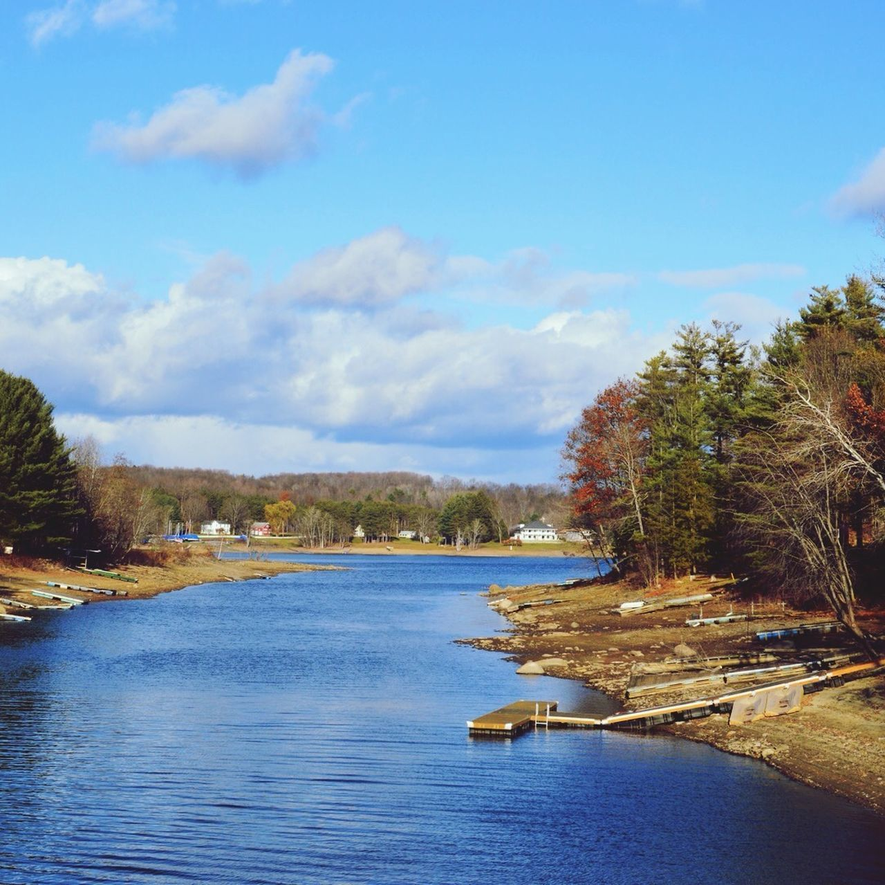 Sacandaga Lake near the Mayfield Lake side in New York State