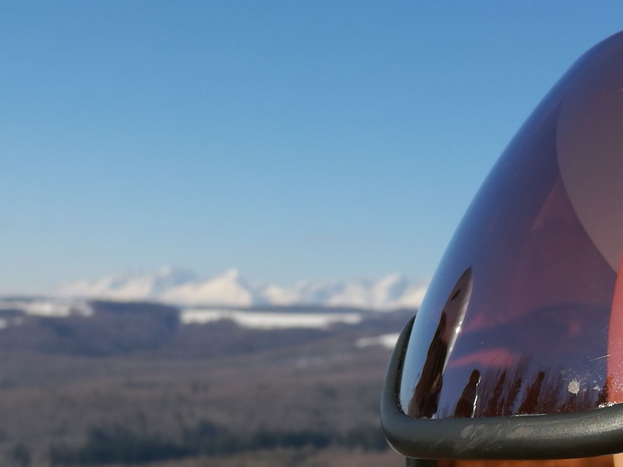 Skiing Day Ski Outdoors Close-up Mountains In Background High Tatras :) Skiing Helmet