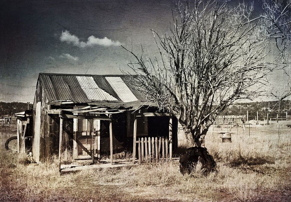 """""""Once Upon A Time"""" A tiny abandoned house on a side street in the Village of Corona, New Mexico, USA was once upon a time called home. Black And White Blackandwhite Blackandwhite Photography Abandoned Places Abandoned Buildings Ruraldecay RuralExploration Oldhouses Deserted House Brokendreams"""