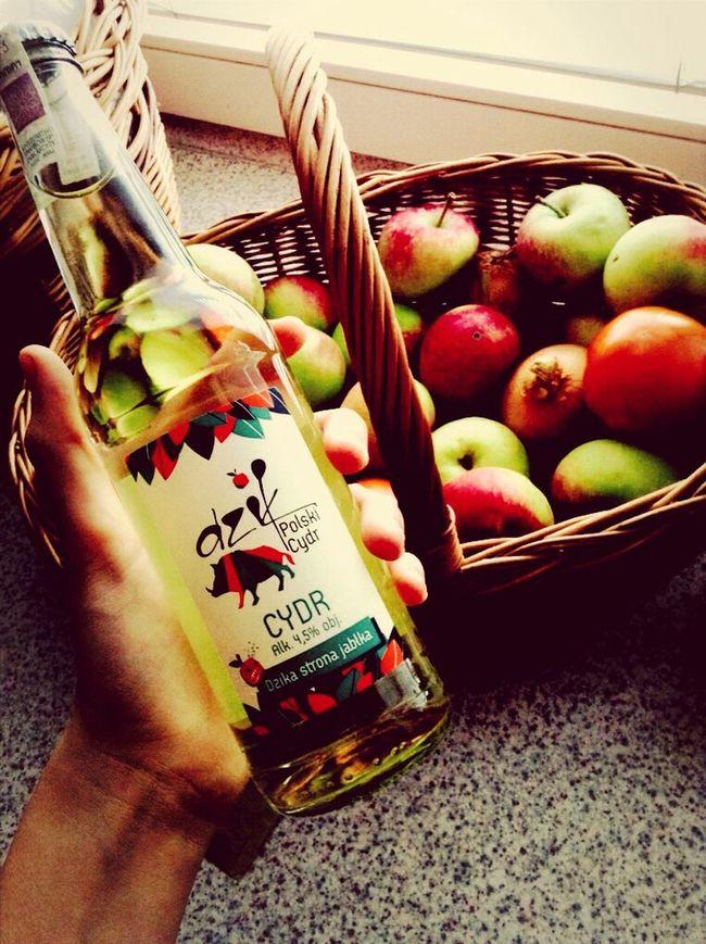 Cydr z święta młodego cydru lubelskiego w Lublinie :) Cider Apples Polski Cydr