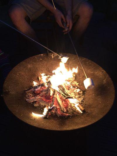 Marshmallows Fire Feuerschale