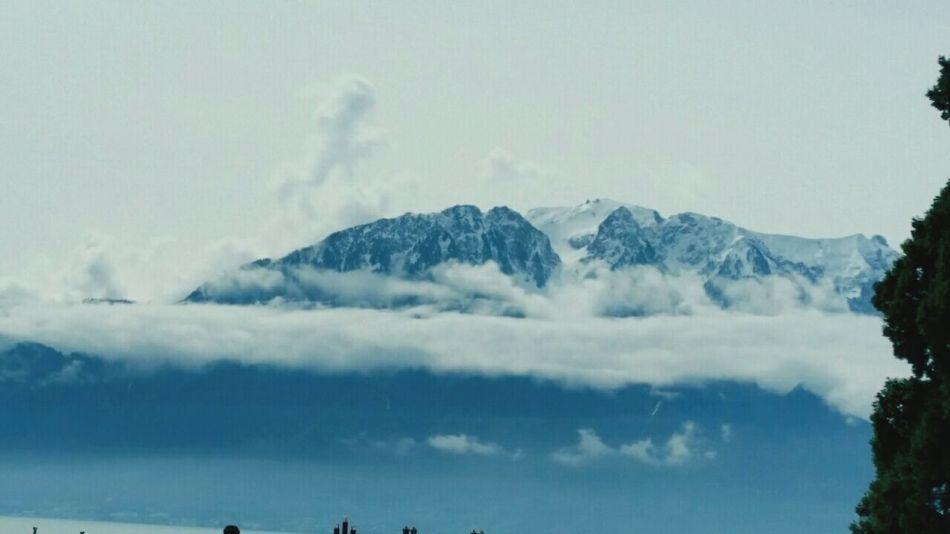 Swiss Alps Swiss Mountains Swissair Sky