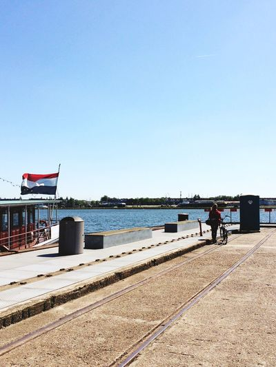 At the Harbour with EyeEm Global Meetup EEA3 - Amsterdam (including a random toilet)