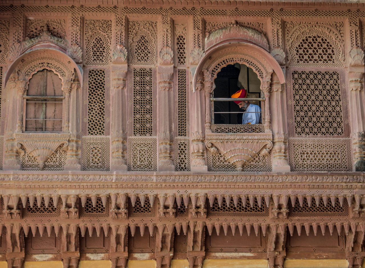 Arch Architecture Window Travel Destinations Built Structure History Low Angle View Indoors  Day Oldman Old Buildings Old Building  Fort Jodhpur Jodhpur Rajasthan Jodhpur Fort Mehrangarh Mehrangarh Fort Mehrangarhfort Rajasthan India Indian Culture  TCPM