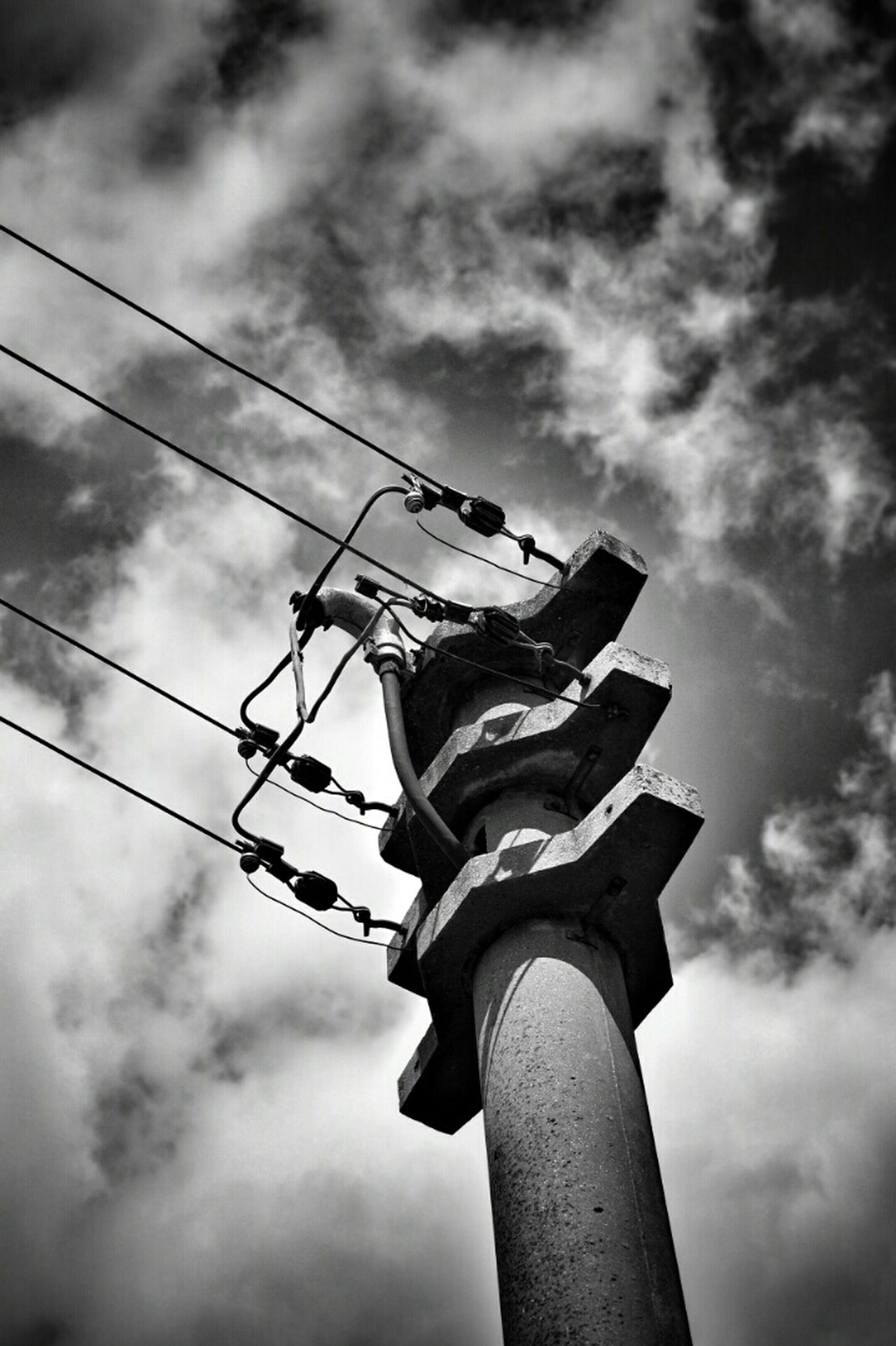 Strommast Urban Landscape Walking Around The City  Black And White Photography Monochrome Black And White Enjoying The View Getting Inspired S/w-Fotografie Street Photography