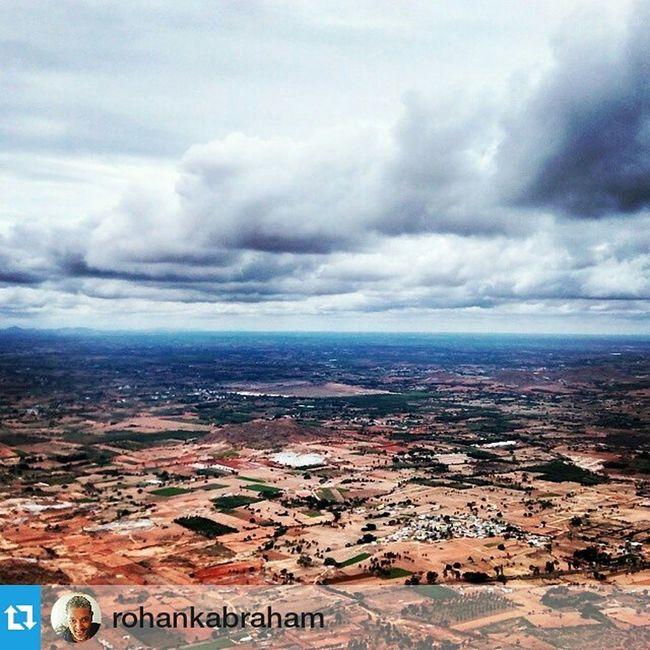 Blast from the past. Repost @rohankabraham The monsoons are on their way! Nandi hills. IndiaTrail Cloudyskies Monsoons Rain Storm Horizon Nandi Hills Deccan Outskirts Bangalore Karnataka