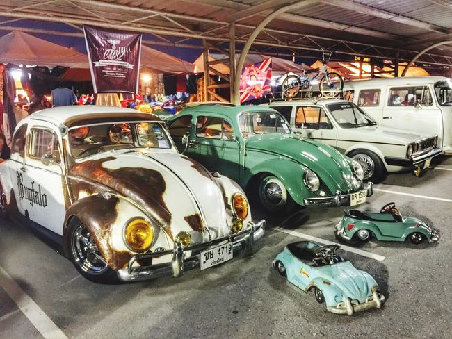 Volkswagen Volkswagen Beetle Car Vintage Cars Chiang Mai Bike Week 2015 Consevative