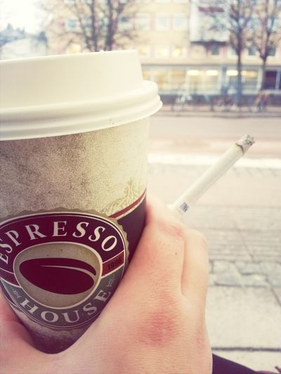 Goodmorning, now i'm alive! Coffee And Cigarettes Goodmorning Espresso House Coffee