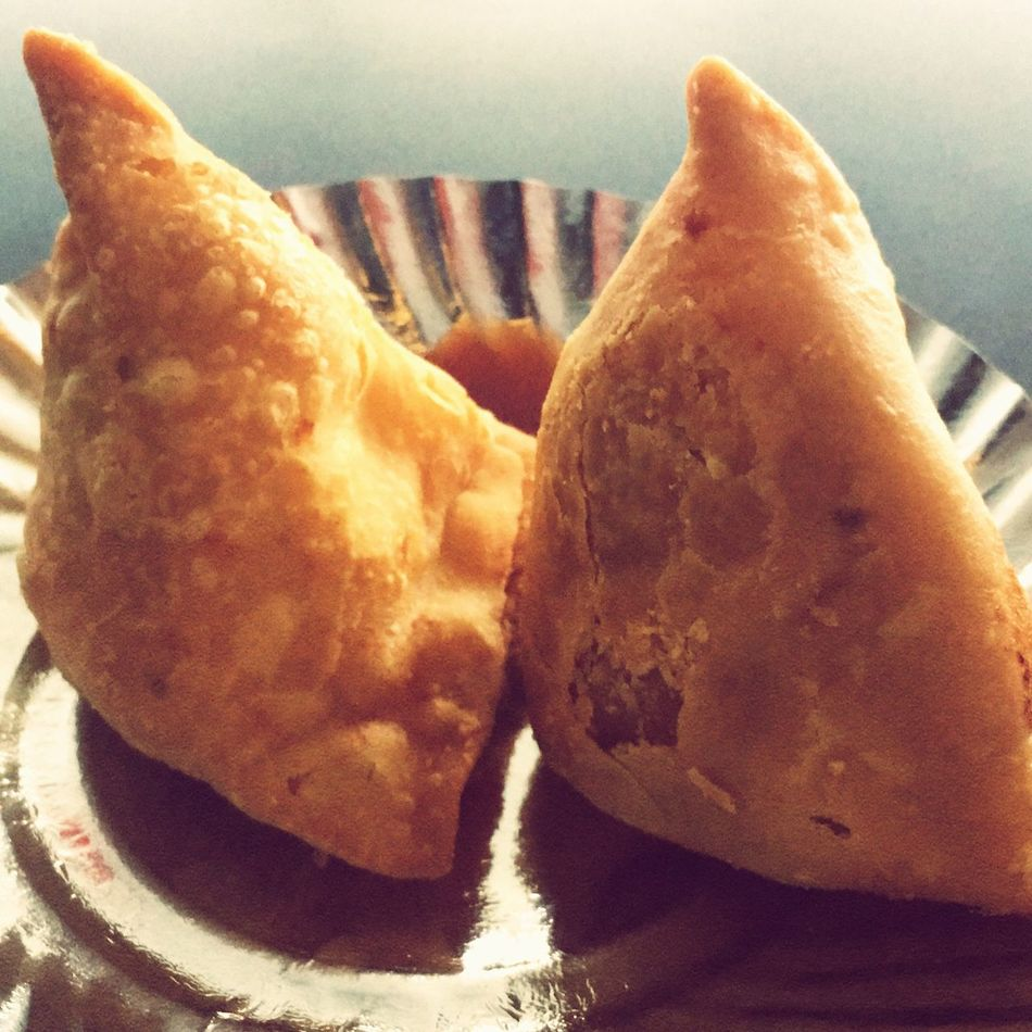 Indian snack it's called samosa. Food Indian Food! Street Food India Snacks Samosas