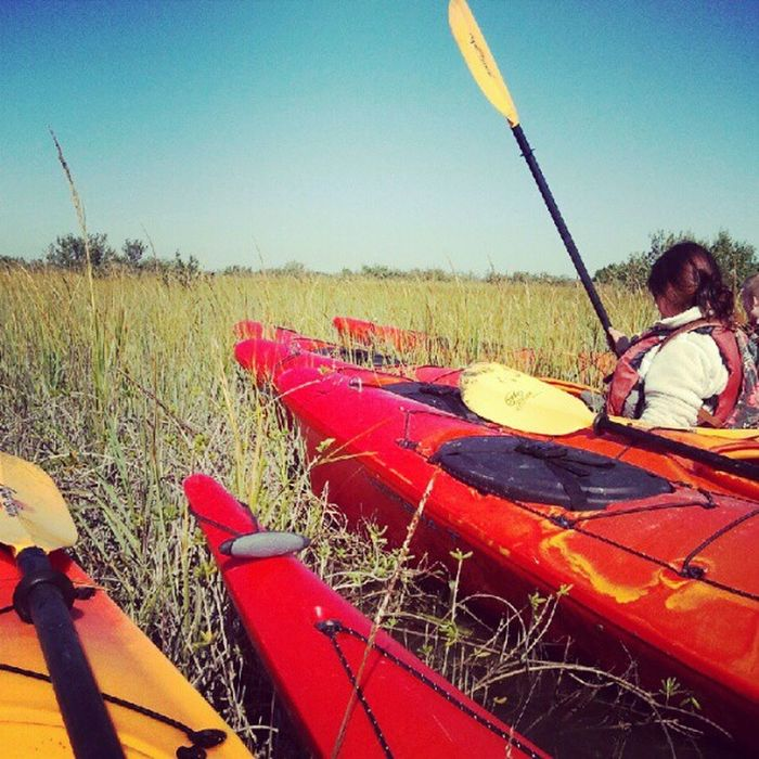 Kayaking with FlaglerCollege
