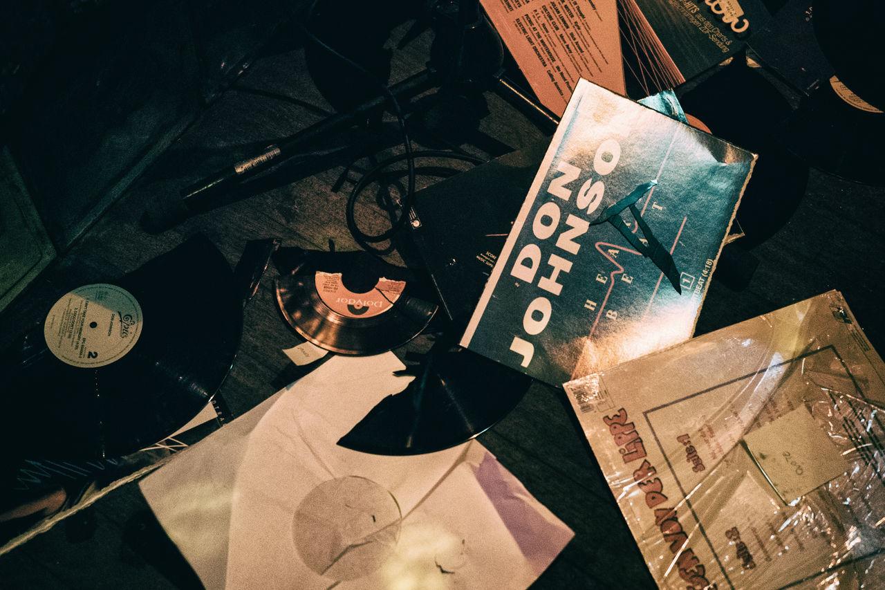 Bad Music Broken Destroyed Don Johnson Floor It's So Sad Music Old Records Vinyl