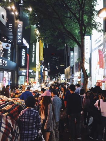 City City Life City Street Large Group Of People Night People Travel Destinations Crowd Street Streetphotography Streetmarket Food Streetfood