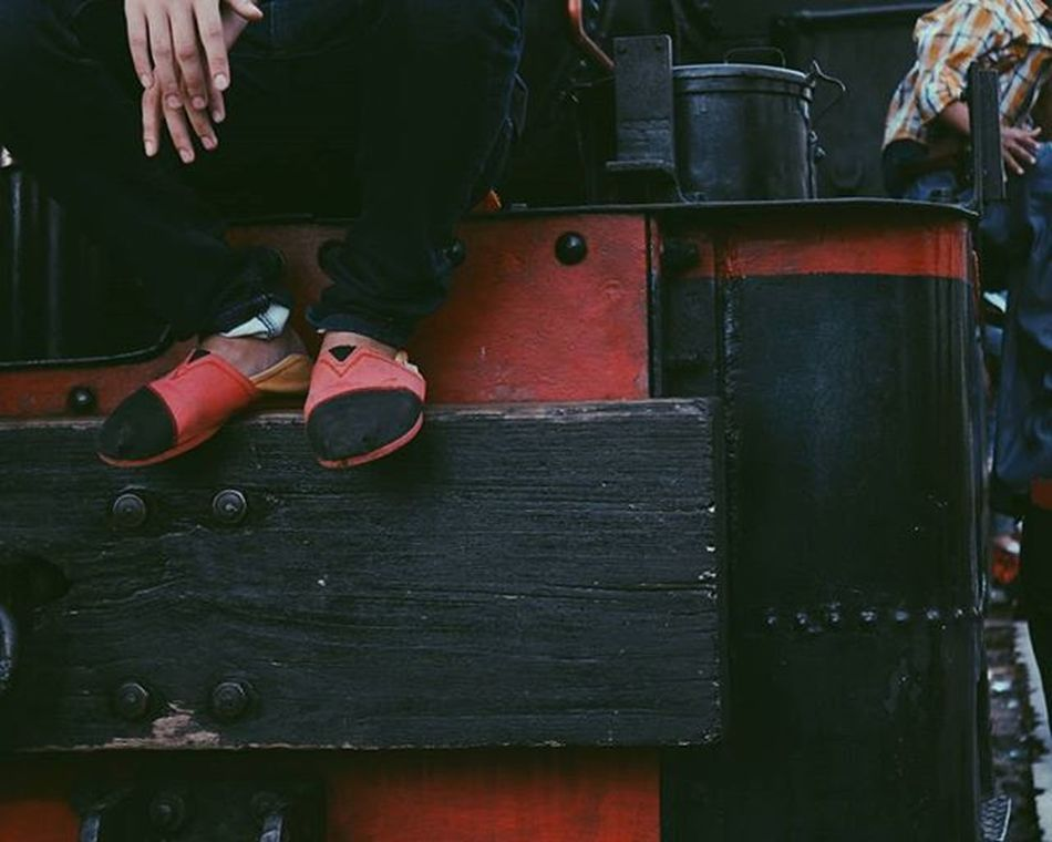 Red choo choo. 🚂 © Train Red Smoke Choo Choochoo Black Color Colour Instagram Instavibe Watchmeinstagood Fire Old Town Shoe Ootd Outfit Street Wear Composition Photo Photography Story