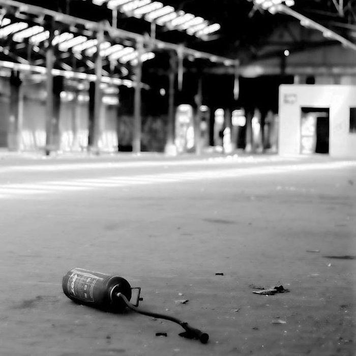 Friche de Stsauveur avant destruction SaintSauveur Urbex Lille Nordpasdecalais  Nord Hangar Extincteur Gare