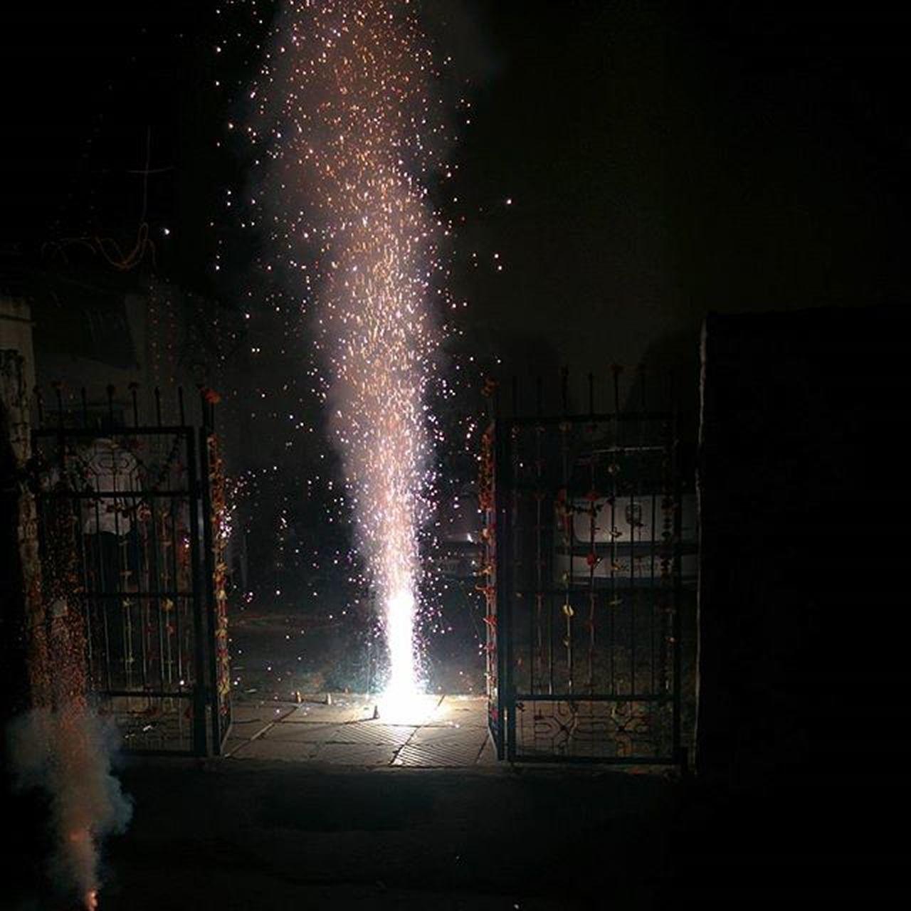 Diwali Anaar Nodamfilter Nexus5 😘 India Festival Anaar Colours Fireworks