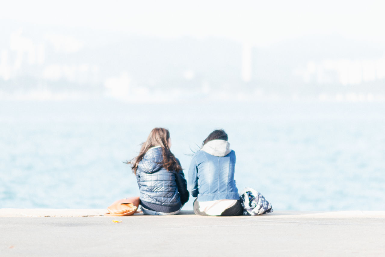 Beautiful stock photos of portrait, Casual Clothing, Day, Focus On Foreground, Friendship