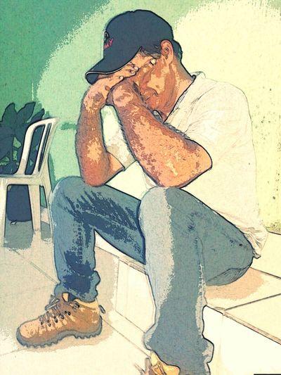 José Carlos em meditação The Human Condition