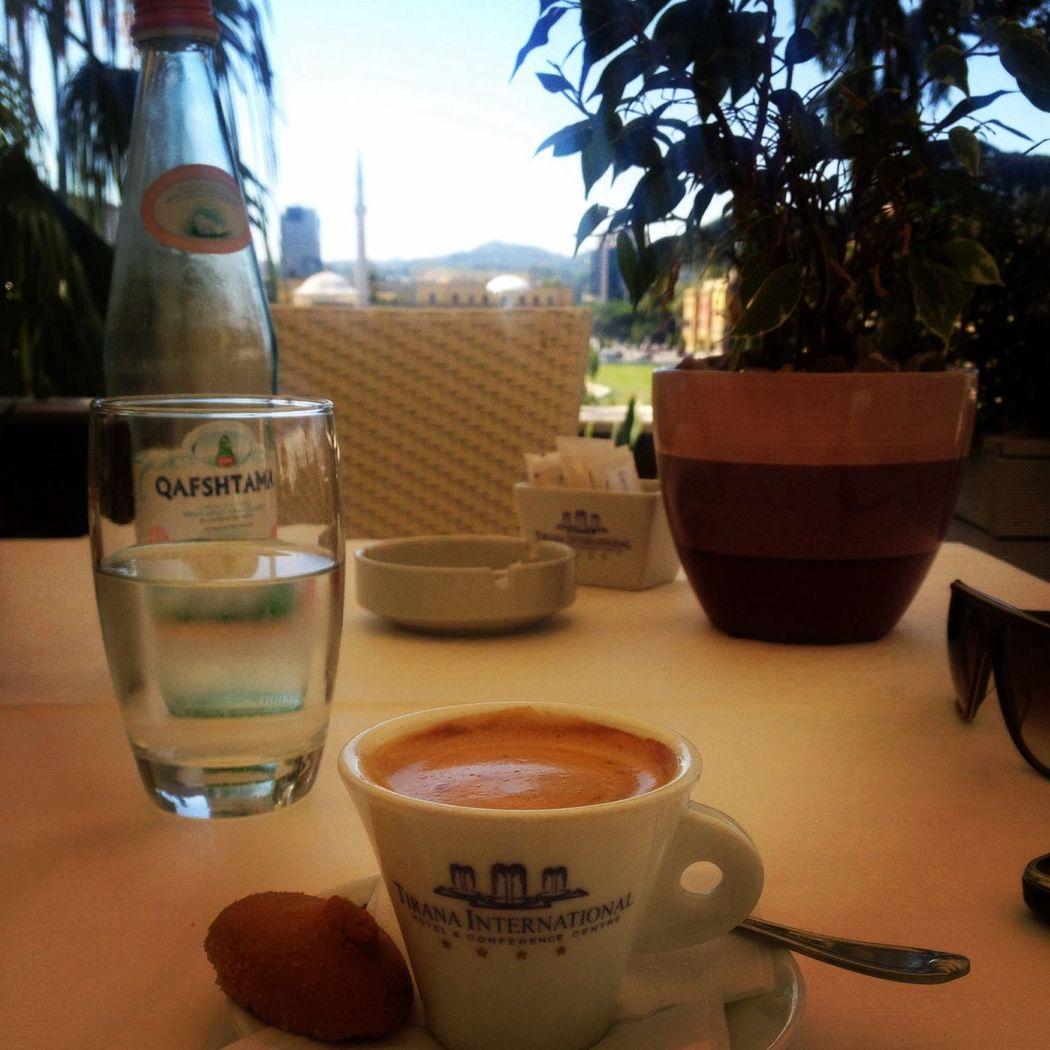 Tirana Albania Keep Calm And Love Albanian Hotel International Tirana First Eyeem Photo
