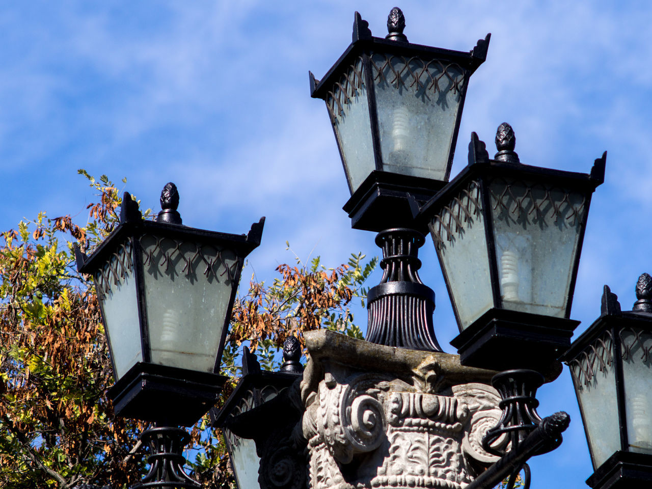 Architecture Building Exterior Crimea Day Gawlet Lamp Lighting Equipment Low Angle View Nature No People Outdoors Russia Sevastopol  Sky Street Light Streetlight
