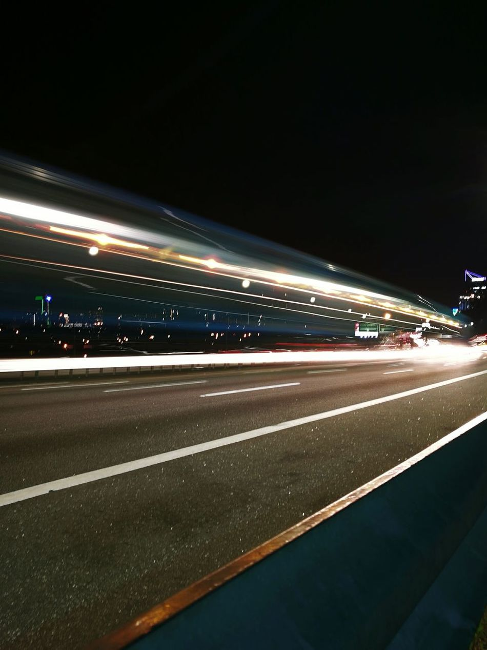 Tail Light Light Trail Blurred Motion Illuminated Night Transportation Outdoors City Life Getting Inspired