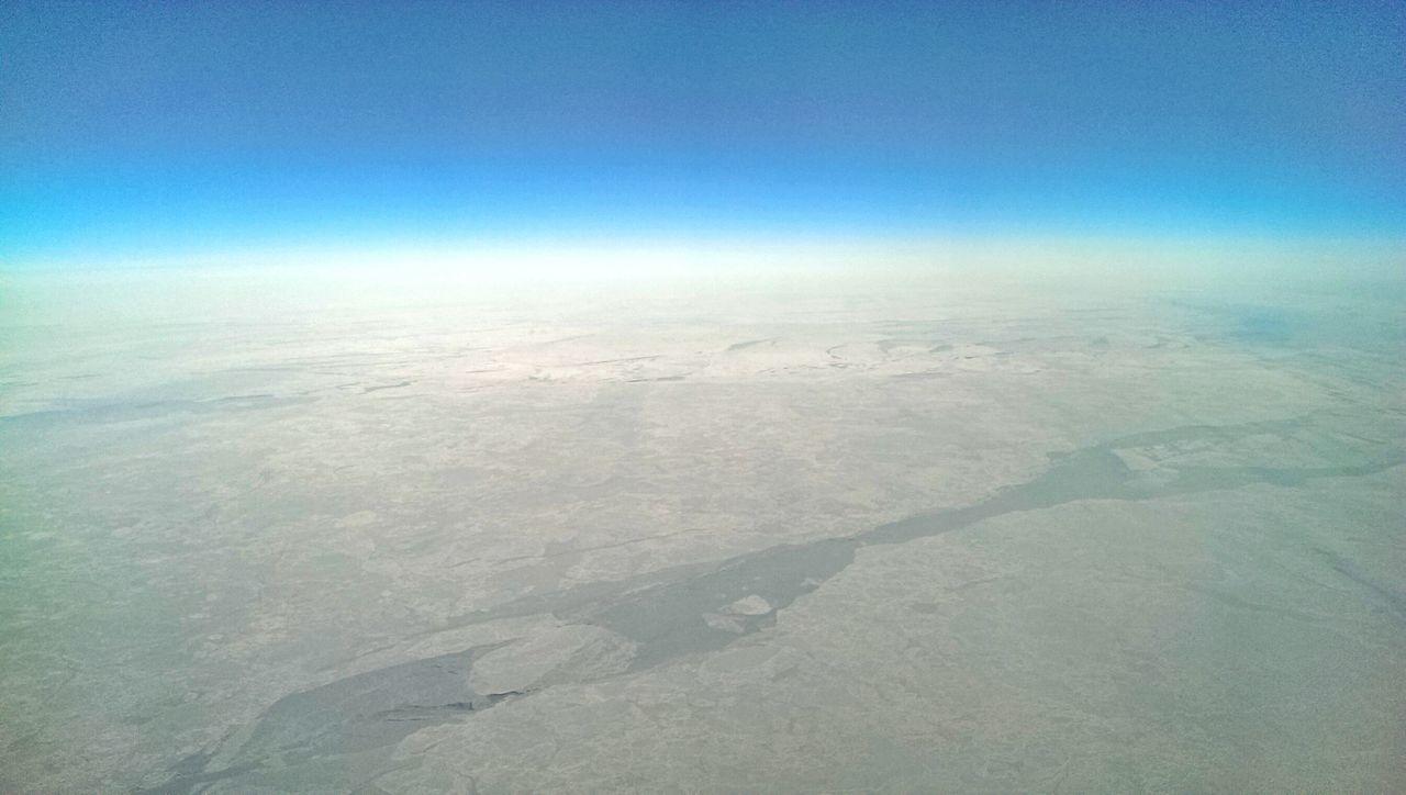 36000 feet over Alaska