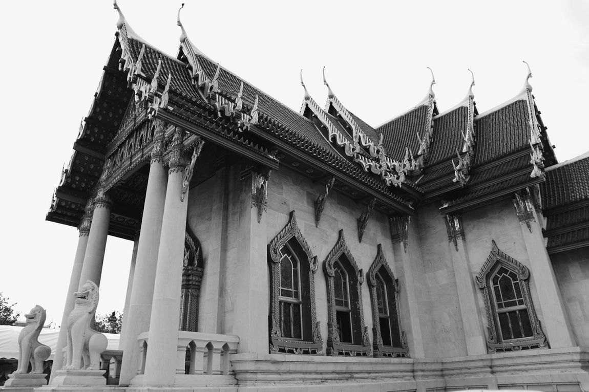 Marble Temple Bangkok Thailand. Temple Architecture_collection Thailand The Architect - 2016 EyeEm Awards Achitecture Thailand_allshots Thai Temple Thailand Photos ThaistyleThailandtravel Buddhist Temple Black & White Black And White Photography Noir Et Blanc Black And White Collection  My Favorite Place