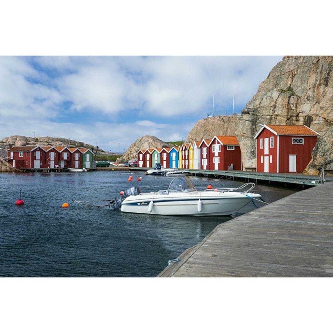 Smögen Huts Water Rsa_water Rsa_water_harbour Sweden