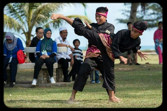 Silat in action