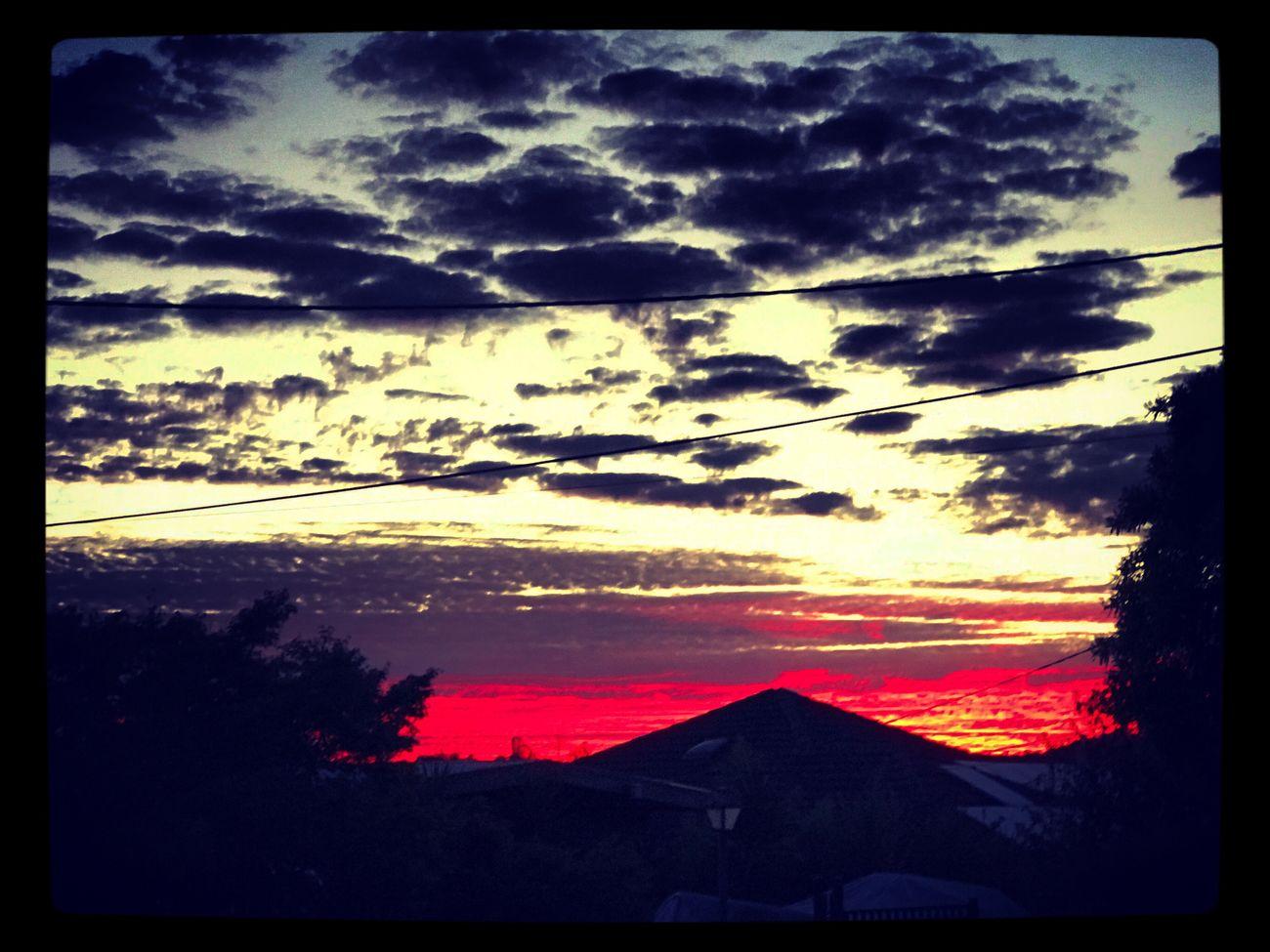 Sometime's this happen's in a blink of an eye 🌤💖🌤 Beautifulskies Orangeskies Naturesfinest Love💏 Skyseries