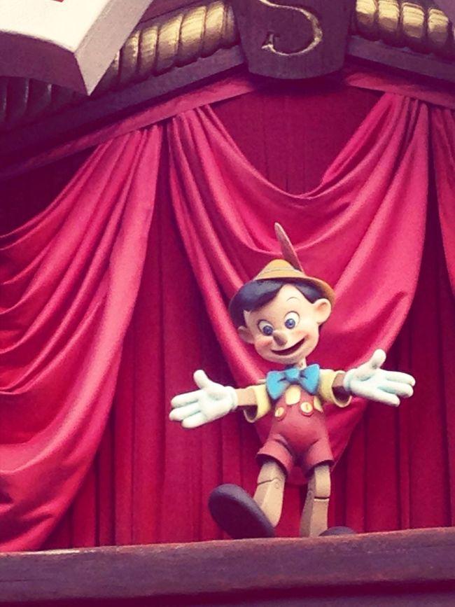 Disneyland Disney Pinocchio Doll